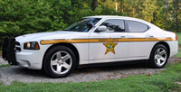 Louisa County patrol car